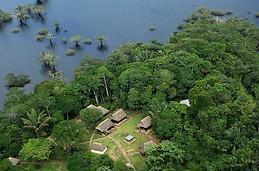 Laguna Grande en Cuyabeno