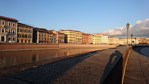 Landscape - Arno river