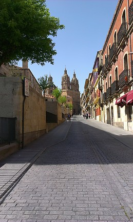 Le colorate vie di Salamanca