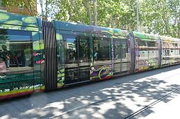 Moi à Montpellier j'aime l'aspect du tramway !
