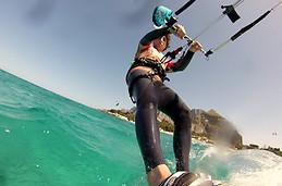 Mondello kitesurfing
