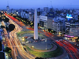 obelisco. center of buenos aires