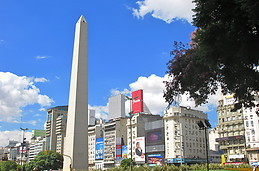 Obelisco y Av. 9 de Julio / Obelisco and 9 de Julio street