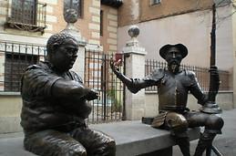 Quijote y Sancho Panza