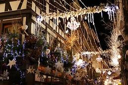 Rue décorée
