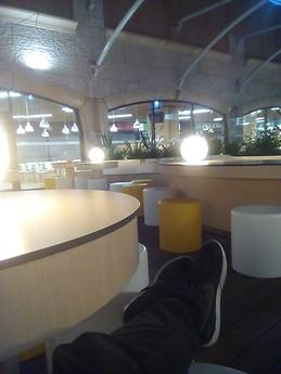 seul dans la nuit au forum d'aveiro