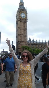 So excited to see Big Ben!