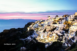 Sunset at Santorini