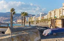 The beach in Almeria