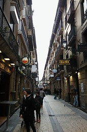 The main city in the Old part of the city