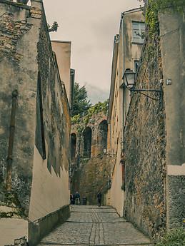 Uliczka w Lyonie