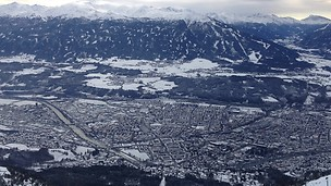 Vista panorámica de Innsbruck