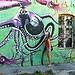 Great graffiti in Lubljana