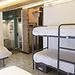 Hostel: cama en habitación compartida, desayuno incluido, nevera