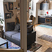 Large and sunny mansard type apartment in the center of Ljubljan