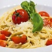 Spaghetti and tomatoes recipe