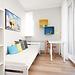 Very nice, bright room