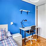 Apartamento para estudiantes de 4 dormitorios y 1 baño completo