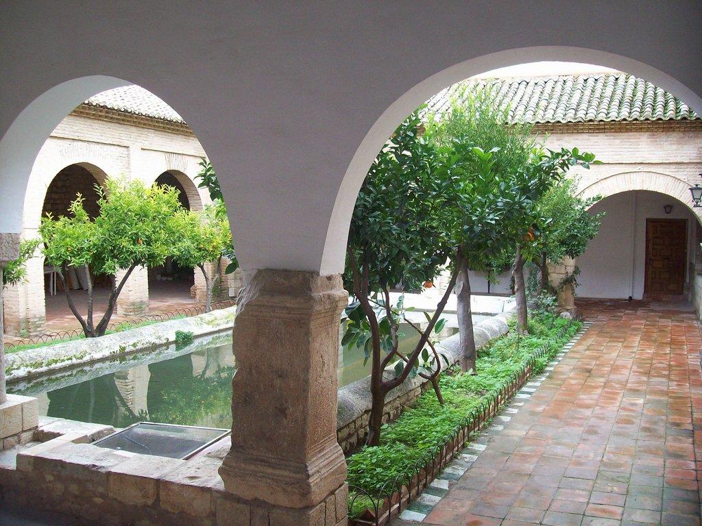 patio rabe de la iglesia de la magdalena erasmus photo jaen