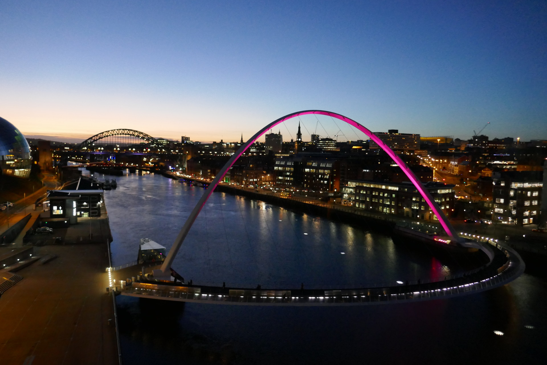1 month in Newcastle
