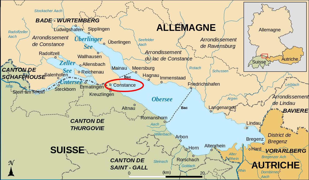 Lago Di Costanza Germania Cartina.10 Buoni Motivi Per Studiare A Costanza Blog Erasmus Costanza Germania