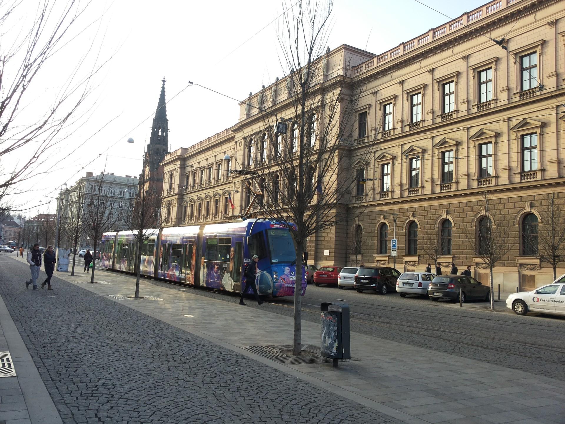1er arrêt, Brno