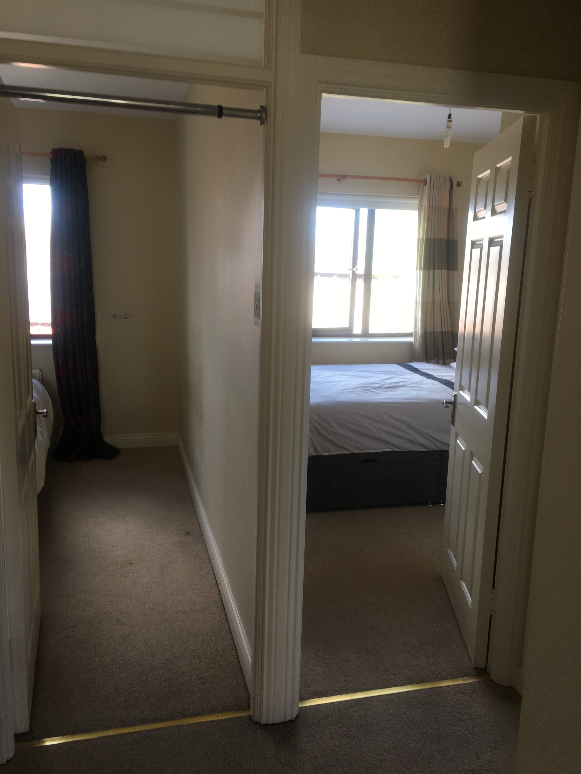 2 Beautiful large double bed rooms