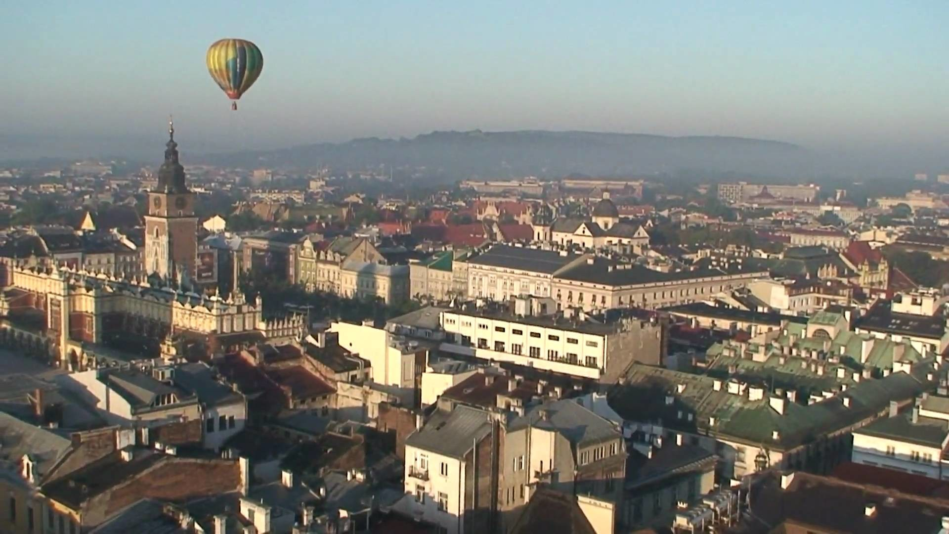 360° panoramy Krakowa z balonu