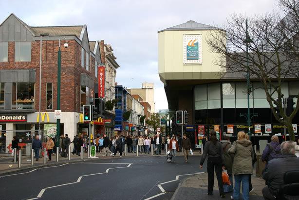 Middlesbrough town center