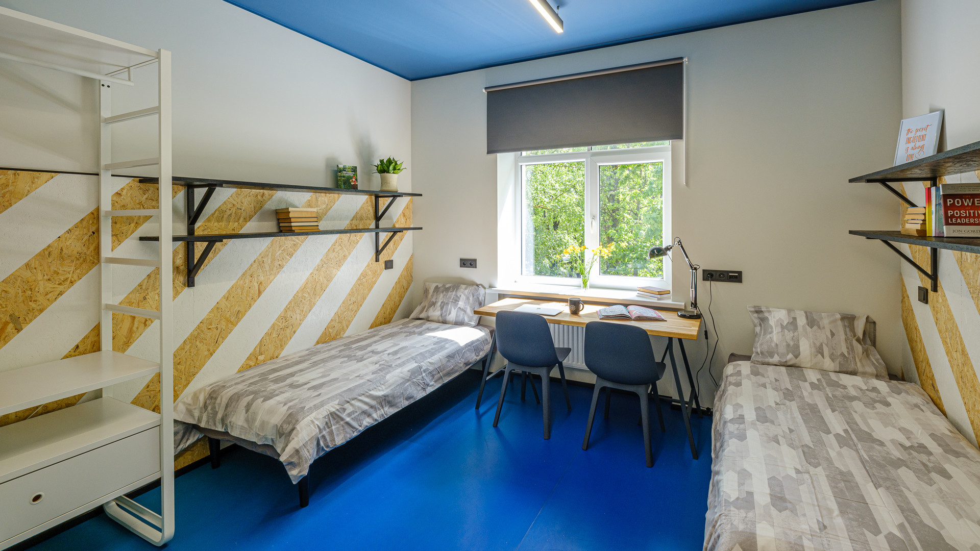 Lovely Twin Bedroom In A Cozy Student Hotel 1 Bedplace In A Twin Bedroom University Dorm Riga