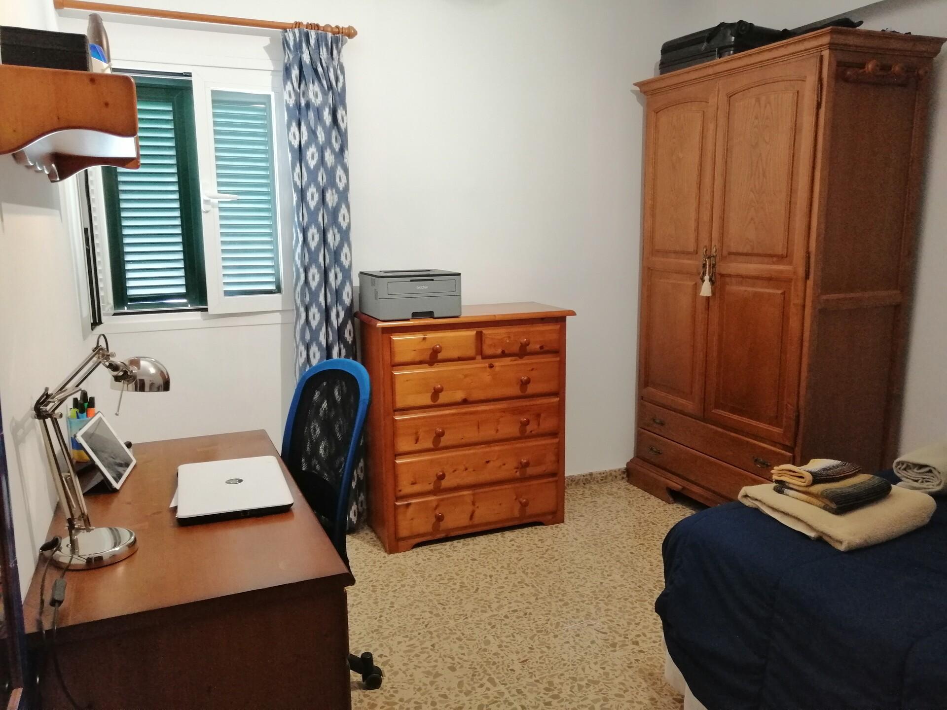 Amplia y cómoda habitación en el centro de Palma