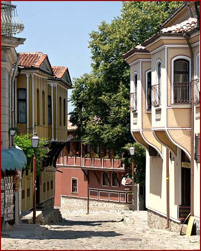 The old town of Plovdiv