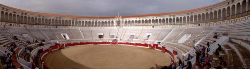 Resultado de imagen de plaza de toros de melilla
