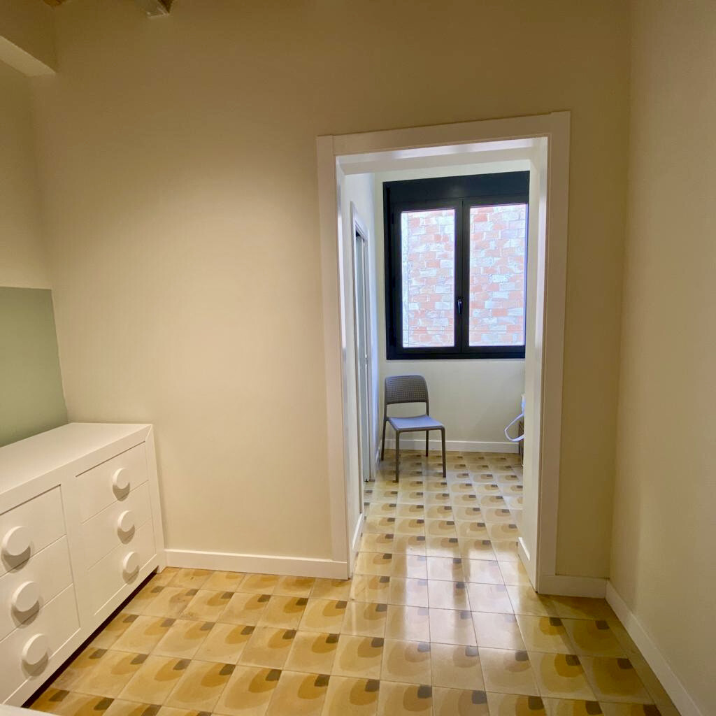 Céntrica Moderna  habitación doble con dos ambient
