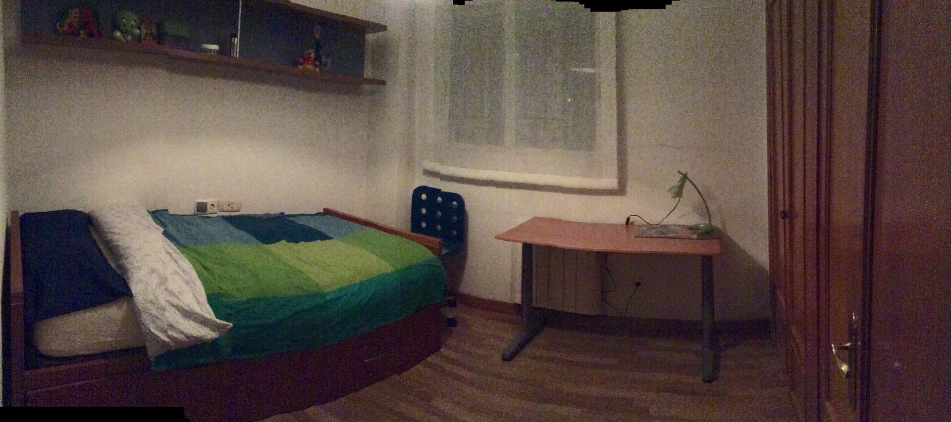 Acogedora habitación individual en piso compartido