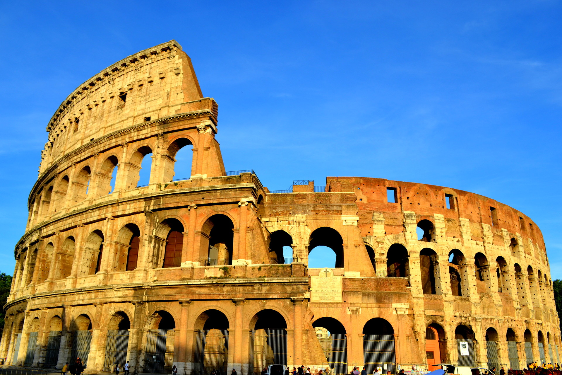 8 months in Rome