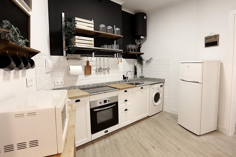 Habitacion individual en piso compartido en el cen