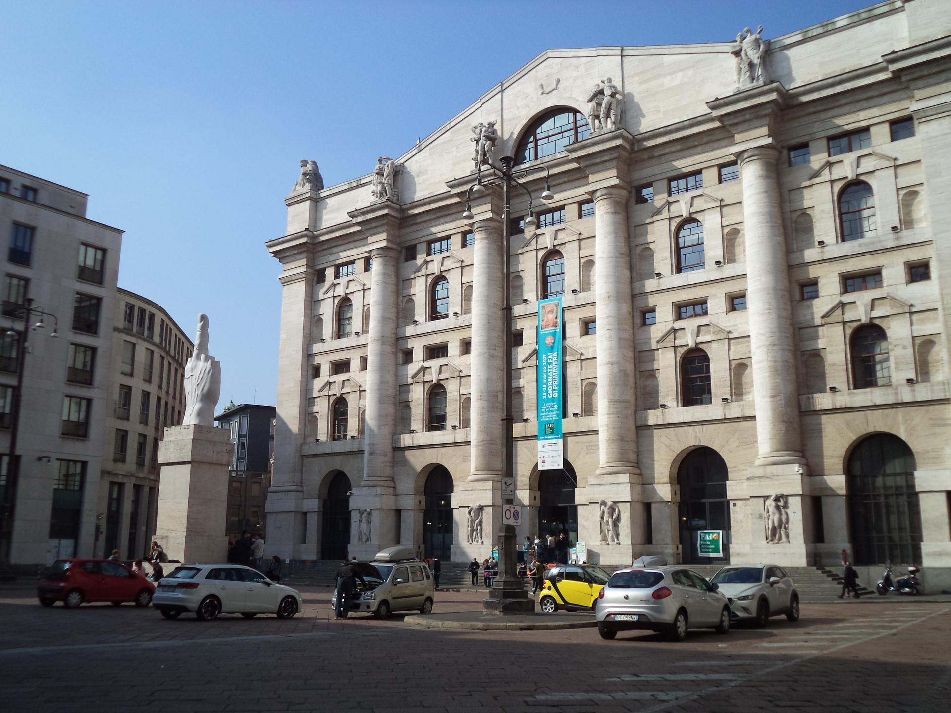 A casa da Bolsa Italiana!