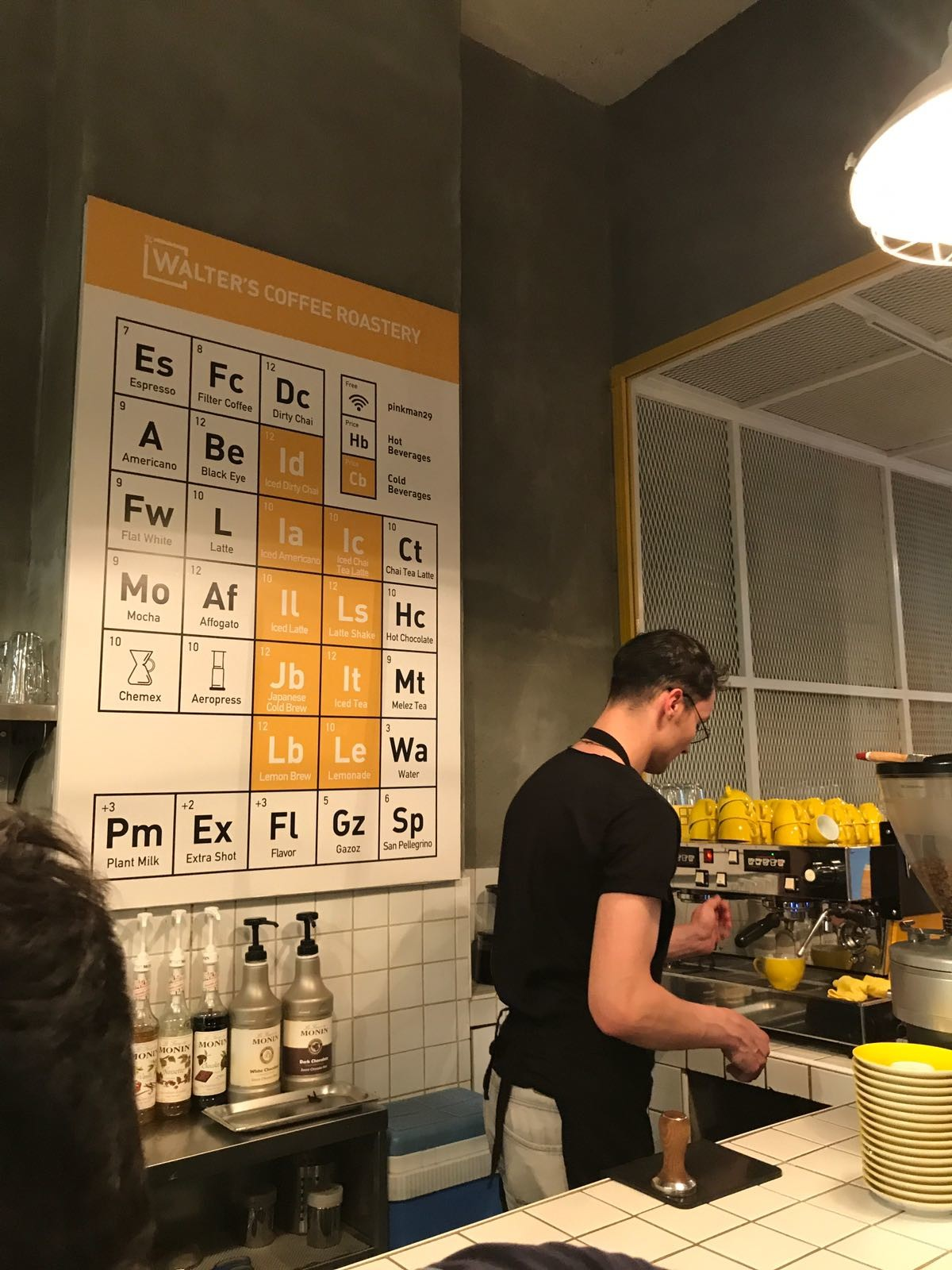 A Coffee Lab in Istanbul