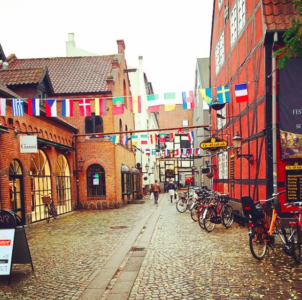 A experiência da Maria em Odense