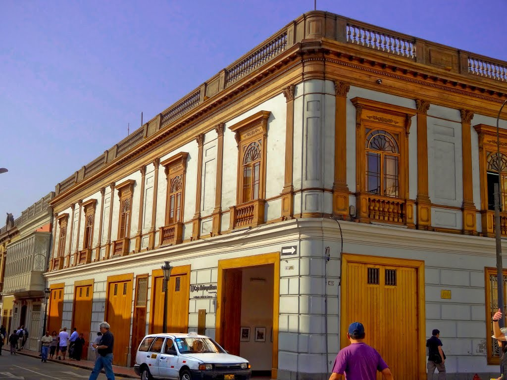 A free gallery in the centre of Lima