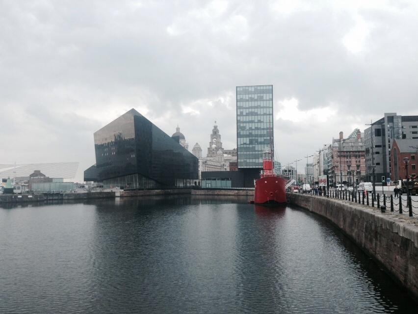 A Grande Roda de Liverpool - vista sobre toda a cidade