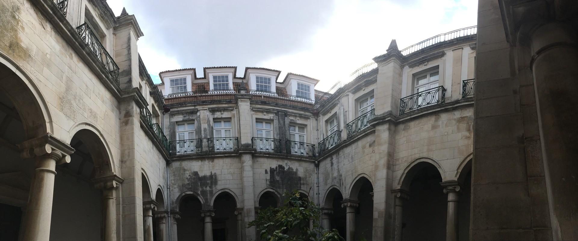 A hidden building in the university