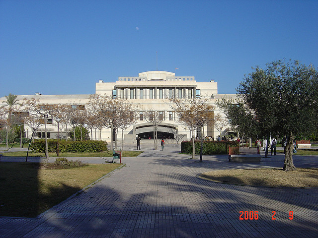 A huge campus, 6 faculties and 30,000 students