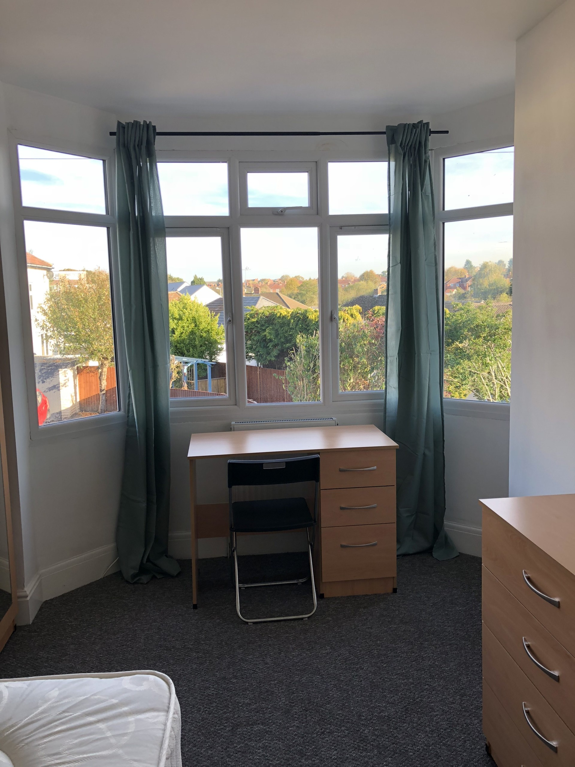 A huge, light and spacious room suitable for single or double oc