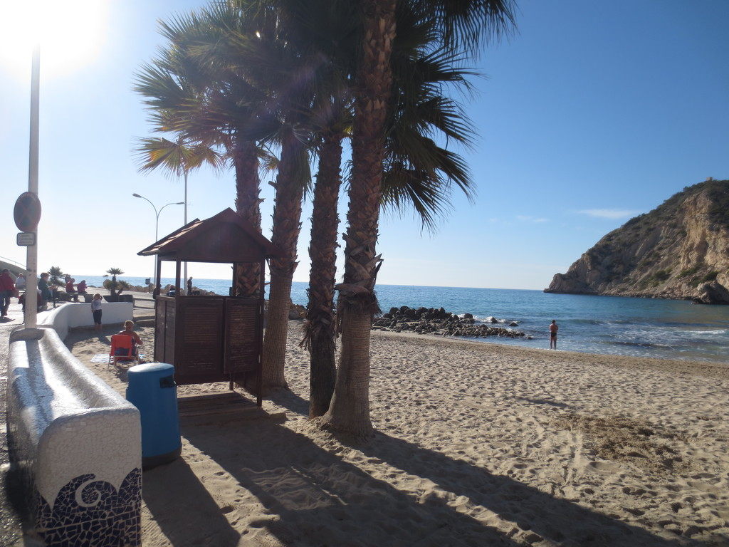 A lovely bay next to Benidorm
