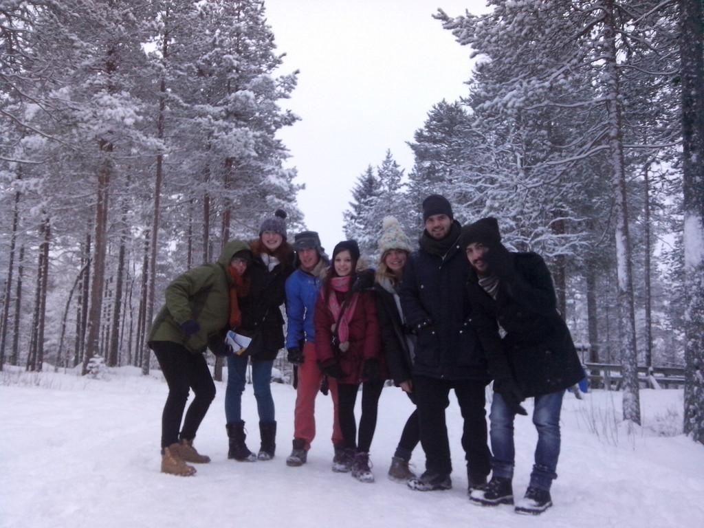 A minha experiência em Jyväskylä