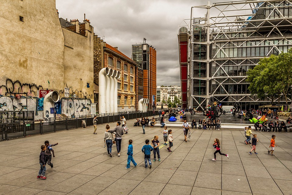A Paradis of the Arts: Visite to the Beaubourg Museum!