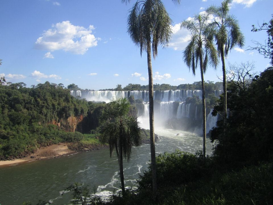A place close to paradise: The Iguassu Falls