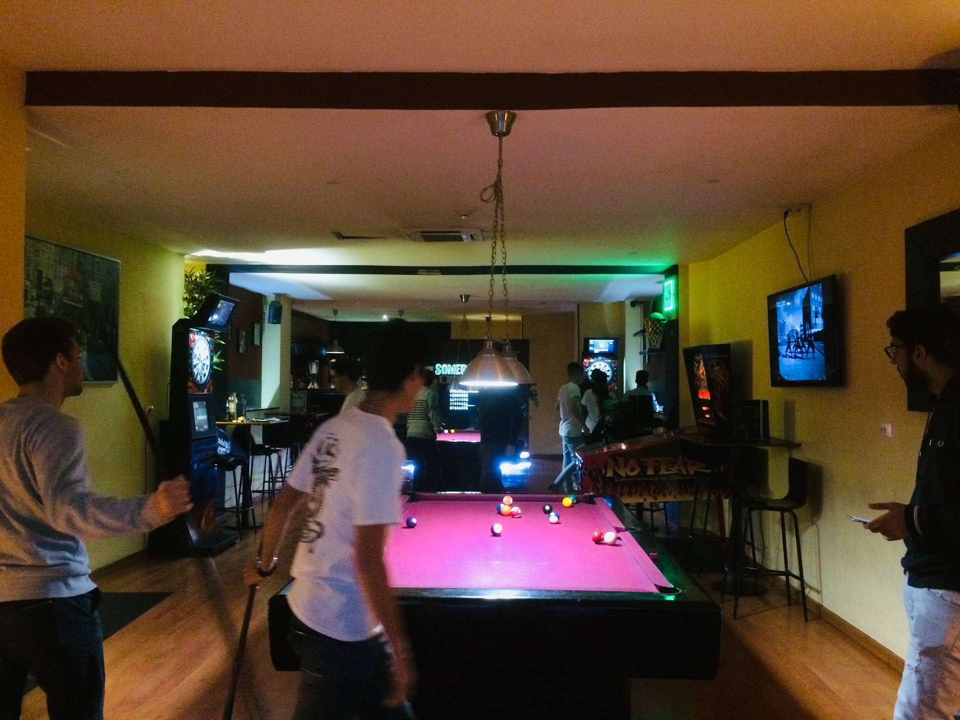 A Place to Play Darts and Snooker
